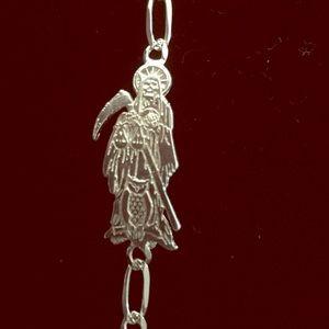 Holy Death Bracelet silver 925